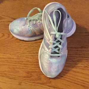 Sparkles and shimmer shine sneakers